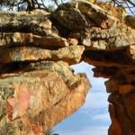 boulder mountain top