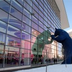 denver blue bear at colorado convention center