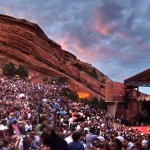 denver red rocks concert