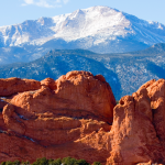 colorado springs pikes peak and garden of the gods